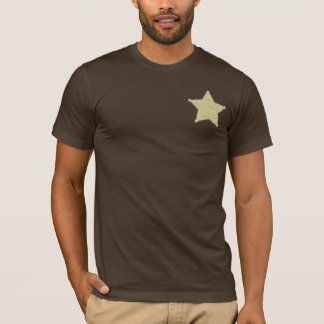 Sheriff Badge Wild West Party T-Shirt