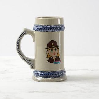 Sheriff Beer Stein