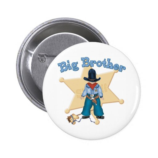 Sheriff Big Brother 2 Inch Round Button