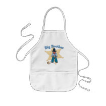 Sheriff Big Brother Apron