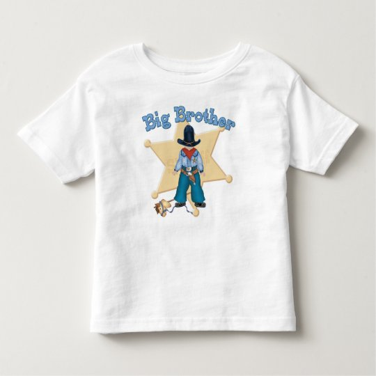 Sheriff Big Brother Toddler T-shirt