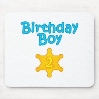 Sheriff Birthday Boy 2 Mouse Pad