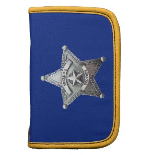 Sheriff Brother Badge Organizer