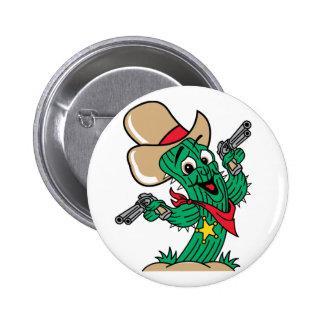 Sheriff Cactus Pins