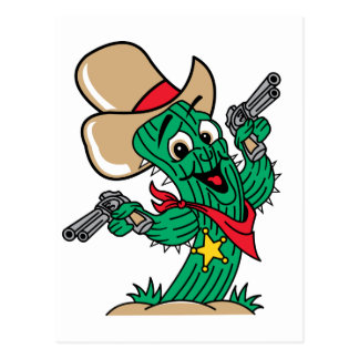 Sheriff Cactus Post Cards