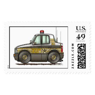 Sheriff Car Law Enforcement Stamps