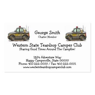 Sheriff Car Patrol Car Business Card Template