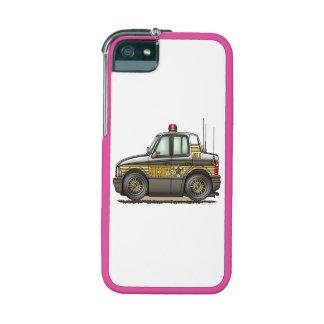 Sheriff Car Patrol Car Case For iPhone 5
