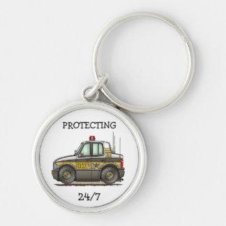 Sheriff Car Patrol Car Key Chain