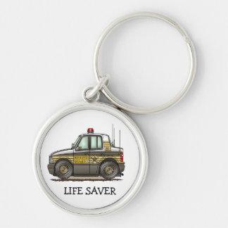 Sheriff Car Patrol Car Keychains