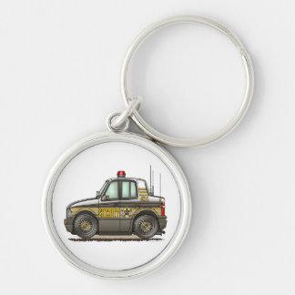 Sheriff Car Patrol Car Key Chains