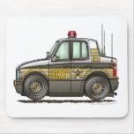 Sheriff Car Patrol Car Law Enforcement Mouse Pads