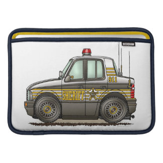 Sheriff Car Patrol Car MacBook Sleeve