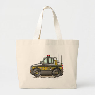 Sheriff Car Patrol Car Tote Bag