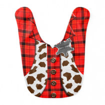 Sheriff Costume Bib