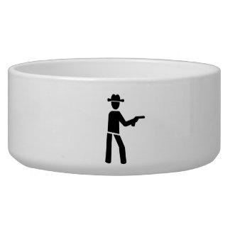 Sheriff cowboy bowl