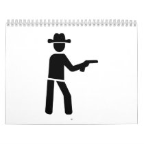 Sheriff cowboy calendar