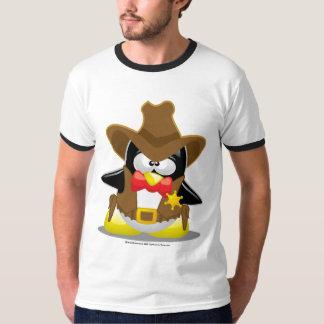 Sheriff Cowboy Penguin T-Shirt