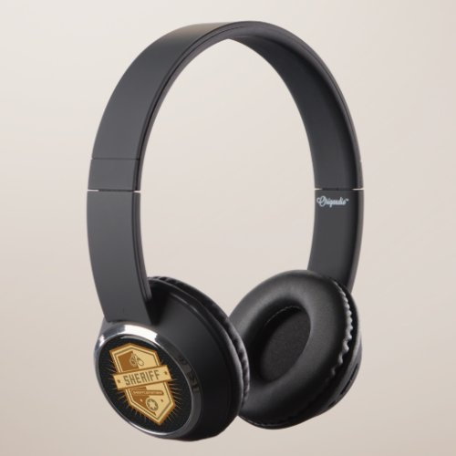 Sheriff Crest Headphones