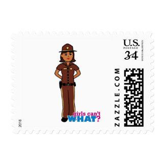 Sheriff - Dark Postage Stamp