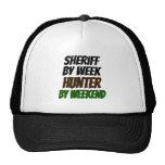 Sheriff del cazador gorra