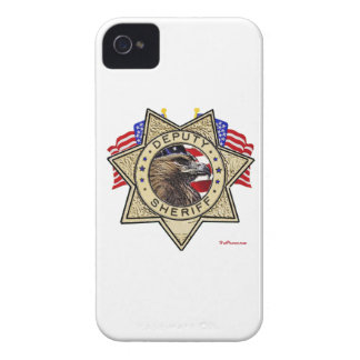 Sheriff Deputy Badge Case-Mate iPhone 4 Case