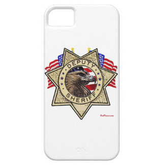 Sheriff Deputy Badge iPhone SE/5/5s Case