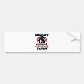Sheriff_Deputy Bumper Sticker