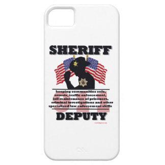 Sheriff_Deputy iPhone SE/5/5s Case