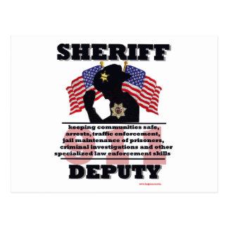 Sheriff_Deputy Postcard