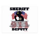 Sheriff_Deputy Tarjetas Postales