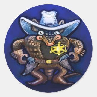 Sheriff Dillo Sticker