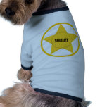 Sheriff Dog Tee Shirt