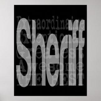 Sheriff Extraordinaire Poster