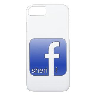 Sheriff Facebook Logo Unique Gift Popular Template iPhone 7 Case