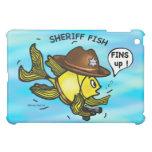 SHERIFF FISH - funny cute Sparky Cartoon Case For The iPad Mini