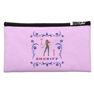 Sheriff Girl Comestic Bag