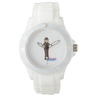 Sheriff Girl Wrist Watch