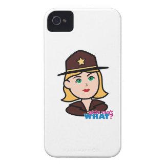 Sheriff iPhone 4 Case-Mate Coberturas
