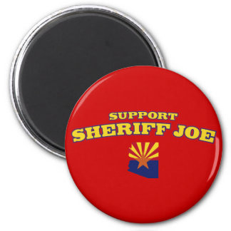 Sheriff Joe de la ayuda Imán Redondo 5 Cm