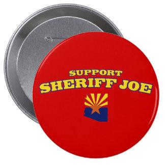 Sheriff Joe de la ayuda Pins