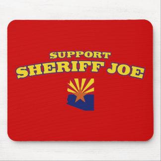 Sheriff Joe de la ayuda Alfombrillas De Ratón