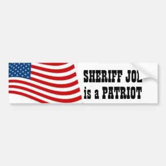 Sheriff Joe Pegatina Para Auto