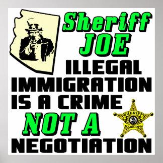 SHERIFF JOE PÓSTER