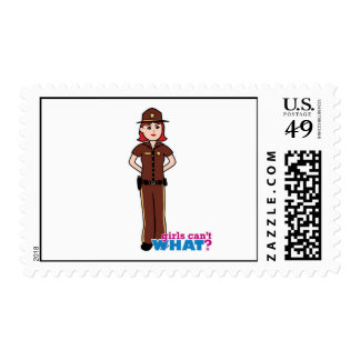 Sheriff - Light/Red Postage Stamp