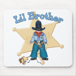 Sheriff Little Brother Mousepad
