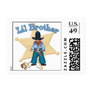 Sheriff Little Brother Postage