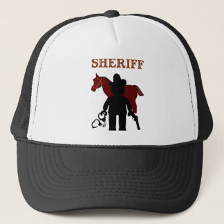 Sheriff Minifig by Customize My Minifig Trucker Hat
