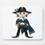 Sheriff Mousepad del vaquero de Gunslinging Tapete De Raton