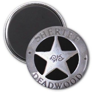 Sheriff of Deadwood 2 Inch Round Magnet